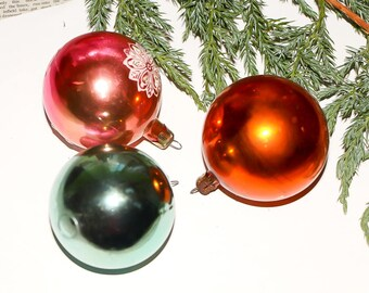 Christmas tree balls holiday ornaments balls ornaments vintage decorations glass xmas ornament vintage baubles new year balls xmas balls