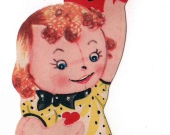 Vintage Rag doll Valentine 1960's
