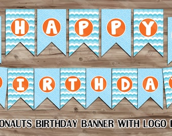 Octonaughts Birthday Banner, High-Quality Octonauts Happy Birthday Banner, Octonauts Birthday Banner - PDF Digital File, INSTANT DOWNLOAD