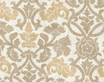 Anika Flax Curtains-  Accent pillows & Valance, cream,tan and yellow fabric