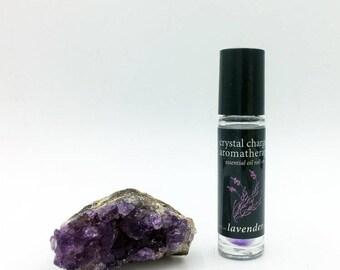 lavender/amethyst essential oil roll-on