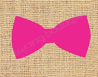 Classic Solid Bowtie sticker ~ vinyl ~ Bow tie Decal