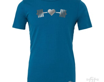 Fitness Tee | Fitness Shirts | Workout Clothes | Workout Tops | Gym Shirt | Workout Shirts for Men | Workout shirts for Women | Powerlifting