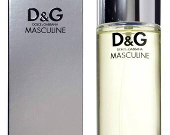 Dolce & Gabbana Masculine Eau De Toilette Spray 3.4 Oz 100 Ml NIB