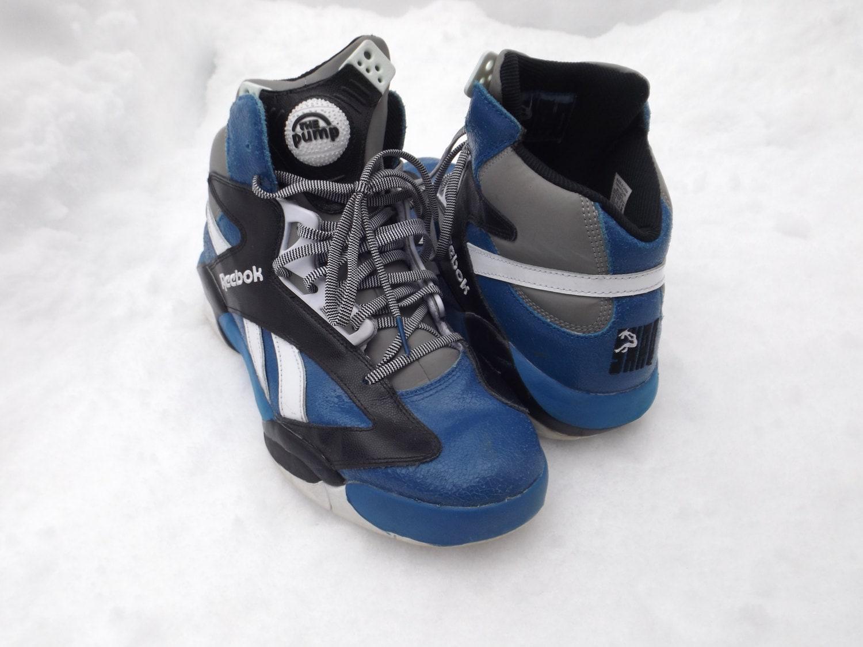 1aa8d23f10c ... Amazing Reebok Pump Shoes Shaq Brand RARE NBA Orlando Magic ...