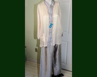 Vintage Old Stock Woman's Lady Nobelt Pajamas with Tags