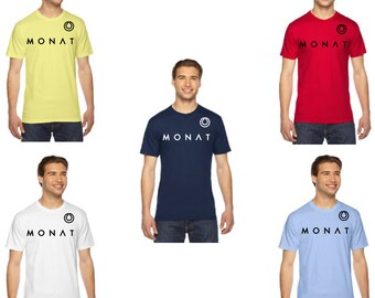 Monat American Apparel Fine Jersey Shirt, Monat Jersey Shirt, Monat Shirt, American Apparel, Shirt, Fine Jersey, Monat Clothing, Monat