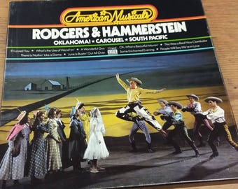 Time Life American Musicals Rodgers & Hammerstein Oklahoma Carousel South Pacific Broadway Soundtracks LP Vinyl Record Album Box Set