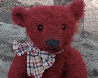 "Hampton Bears Flann  11"" antique style Artist Bear"