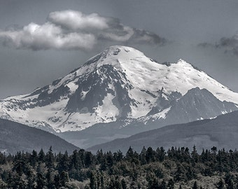Mount Baker, Landscape Photo, Nature Image,