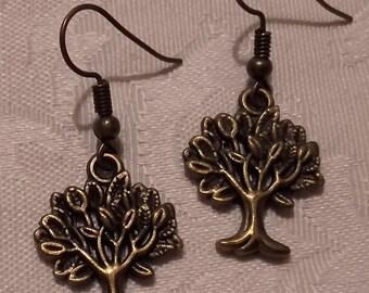 "Earrings ""Trees"""