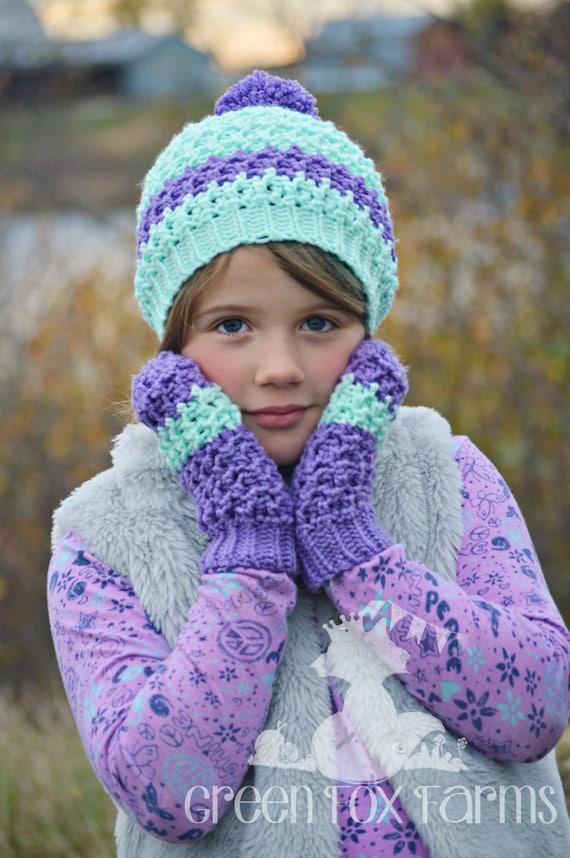 Häkeln Kinder Handschuhe Mädchen stricken Handschuhe jungen