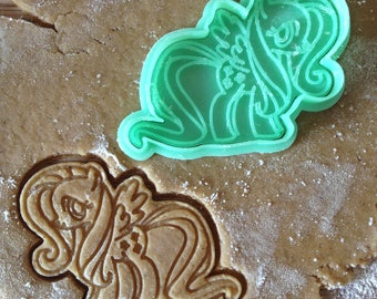 Pony cookie cutter. Pony cookies.