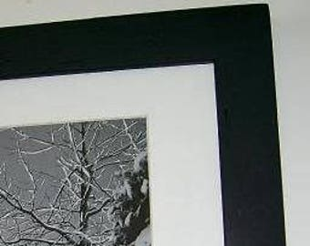 11x14 Picture Frame with Acrylic Glass, Backing and Mounting Hardware