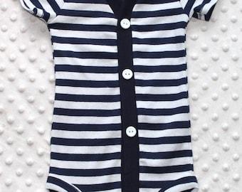 Baby Boy Cardigan, Grey, Navy Blue Stripes, Trendy Baby Boy, Baby Boy Outfit, Baby Boy Coming Home Outfit, Baby Boy Clothes, Smash Cake