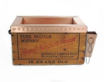Royal Northern Cream Scotch Whiskey Custom Copper Cooler