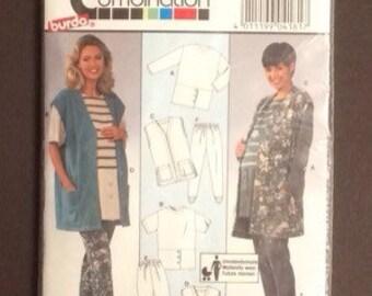 Burda Super Combination Maternity Wear Sewing Pattern 4181 Sizes 8 10 12 14 16 18