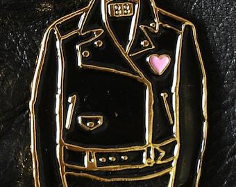 Classic Leather Jacket Enamel Pin