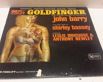 james bond goldfinger soundtrack 1960s,Shirley bassey