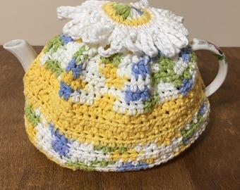 Tea Cozy, Teapot cozy, crocheted