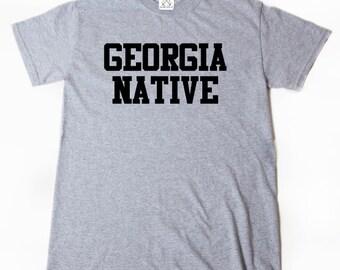 Georgia Native T-shirt Place Name Georgia Home State Atlanta Tee Shirt