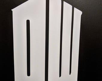 Doctor Who Tardis DW Logo