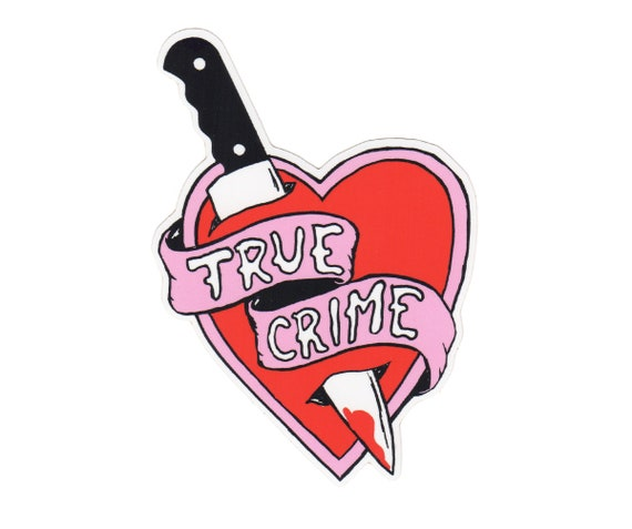 True Crime Vinyl Sticker