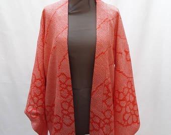 Vintage Shibori Silk Kimono