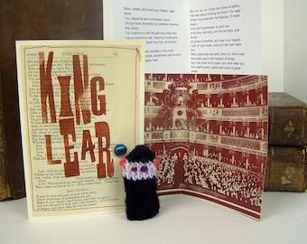 Shakespeare King Lear. Shakespeare gift. King Lear.