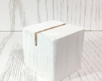 SALE! Individual Wedding Place Card Holders-White, Business Card Holders,