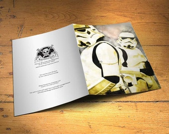 Star Wars Stormtroopers Greetings Card - Wall Decor, Inspirational Print, Home Decor, Eco Friendly, Gift, 5x7 inches Art Print