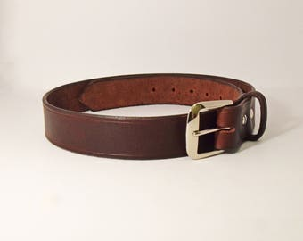 Mens Work Belt, Leather Belt, Durable Belt, Mens Leather Belt, Mens Belt, Work Belt, Belt, Casual Belt