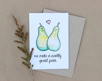 We make a really great pear Gift Card- Print