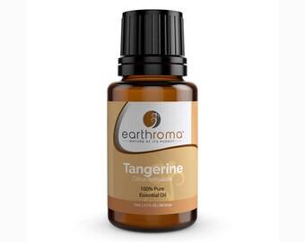 Tangerine Essential Oil   5 mL   15 mL   30 mL   100% Pure Therapeutic Grade