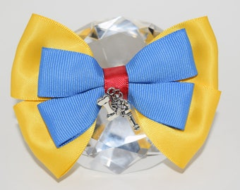 Toontown Inspired Hair Bow/ Disneyland/ Hairbow Charms/ Disneyland Hairbow/Disney