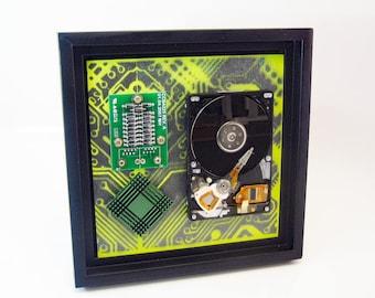 Circuit board art | Etsy