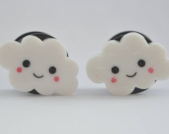 Little Fluffy Clouds Plugs 14mm