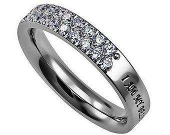 """Covenant Ring """"Beloved"""""""