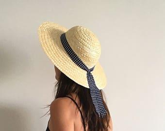 STRAW HAT, Traditional hat, Summer Hat, Portuguese Hat, Handmade Hat, Beach Hat, Sombrero