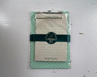Target Dollar Spot Note Pad + Clip Board