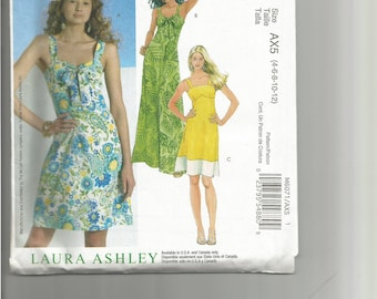 McCall's Pattern #6071 - Laura Ashley dress