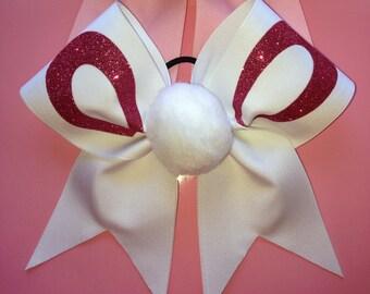 Easter Bunny Ears Cheer Bow