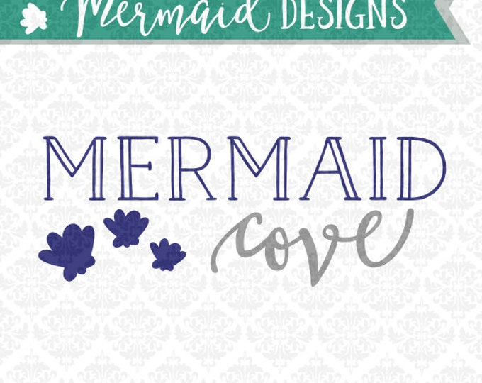Mermaid Tail Pirate Cove Actually SVG DXF STUDIO ai eps png scalable vector instant download commercial use cutting file  cricut silhouette