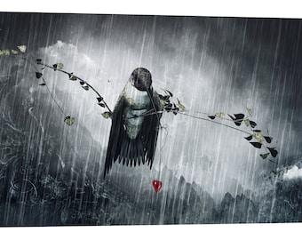 "Giclee Canvas Wall Art ""Reach"" by Cameron Gray"