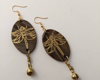Dragonfly Karma Earrings