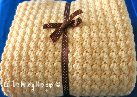 Instant Download Pattern Crochet Heirloom Baby Blanket Afghan