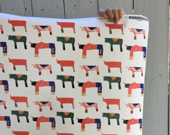 Ecofriendly Wrapping Paper - Rhino and Friends, Includes one roll