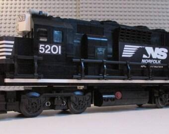 Custom Lego Train Norfolk Southern GP40