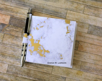 Sticky note holder, Clouds with Gold foil, Post a Note (5490)
