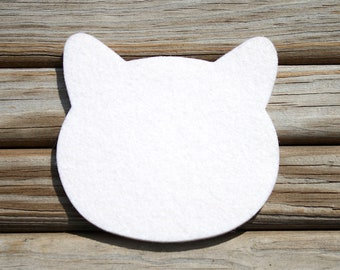 Spring Cleaning Sale! Cat Lover Gift Cat Drink Coasters